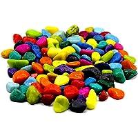 Creative Farmer 10Kg Multi-Color Home, Garden and Aquarium Decor Pebbles Pebbles forWaterfall & Multi Purpose Pack