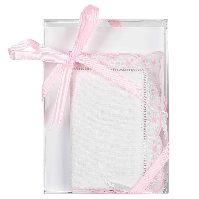 Cloth Lace Baby's First Bible Keepsake (Pink) by Child to Cherish   B00TIZ8X5M