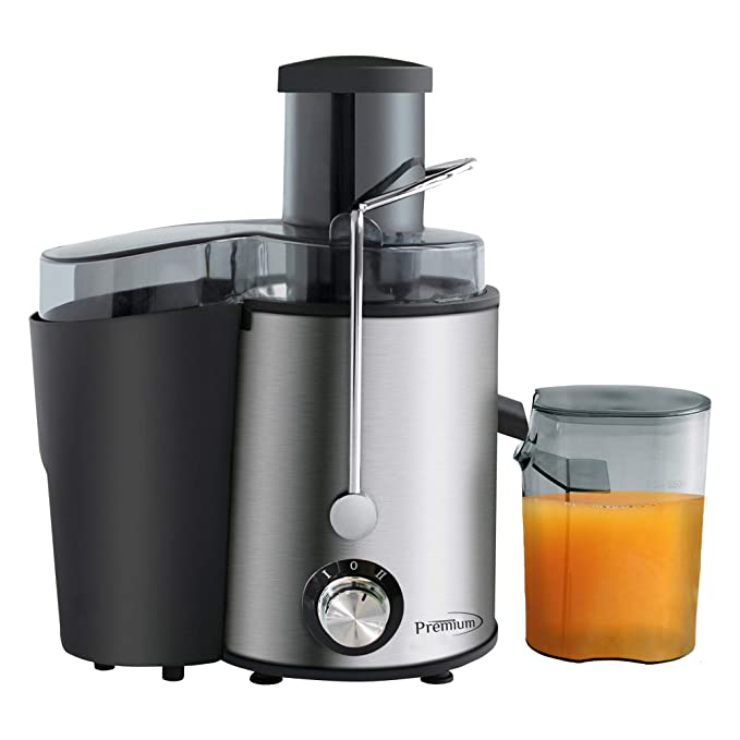 Premium Electric Juice Extractor, Stainless Steel