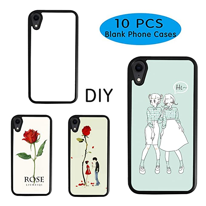 picture relating to Printable Phones titled 10Personal computers Sublimation Blanks Cellphone Scenario Addresses for apple iphone XR 6.1 Inch Printable Cellular phone Situation