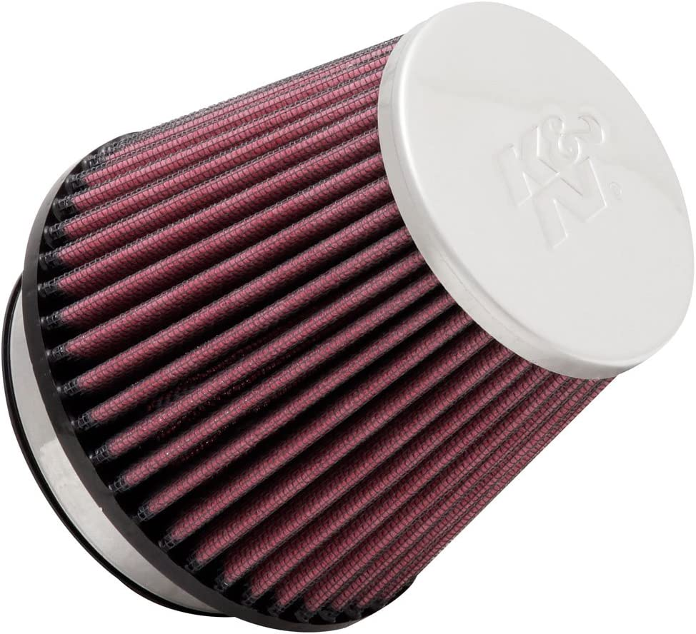 3-1//2T Universal Air Filters 4-3//8H RC-9160 K/&N Universal Clamp-On Air Filter 3-1//8FLG 4-15//16B