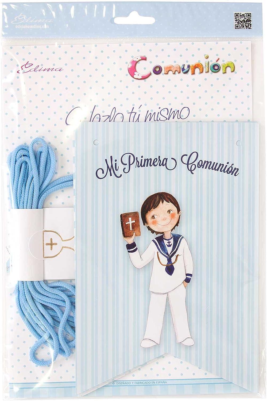 Edima - Bolsa con banderines Mi Primera Comunión DIY (465905-B ...