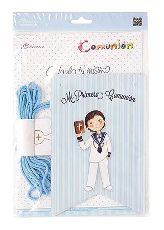 Edima - Bolsa con banderines Mi Primera Comunión DIY (465905-B)