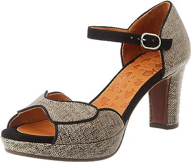 Zapatos con Tacon y Correa de Tobillo para Mujer Chie Mihara Ni-irma36