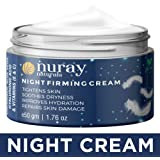 Nuray Naturals Vegan Night Cream for Skin Fairness, Brightening, Firming, Tightening and Hydration, 50 g