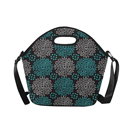 a9004a130ef5 Amazon.com: InterestPrint Large Insulated Neoprene Lunch Bag ...