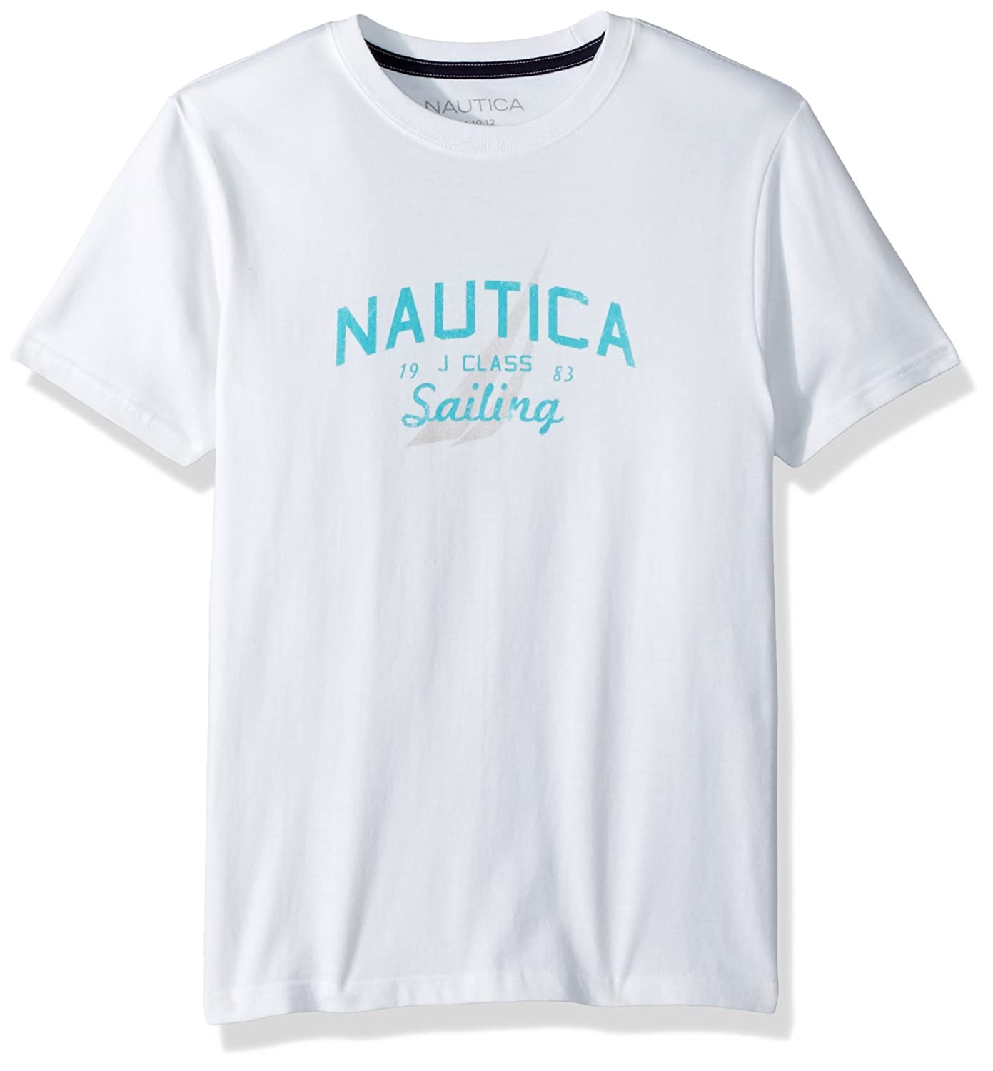 Nautica Boys Little Short Sleeve Sailing Graphic T-Shirt