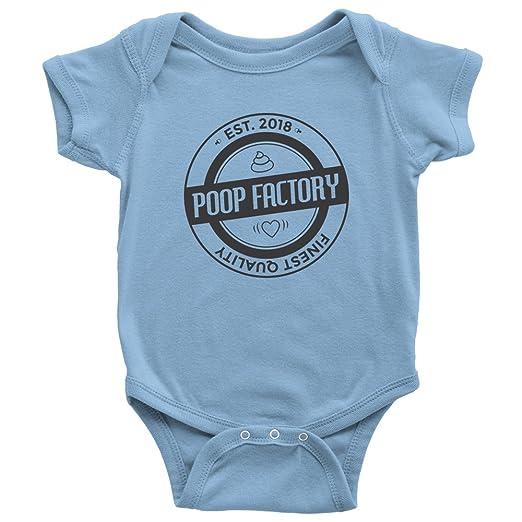 Amazon.com: Caca Factory est. 2018 Funny bebé Onesie ...