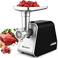 Electric Meat Grinder 2000W, Sausage Grinder with 3 Grinding Plates and Sausage Stuffing Tubes for Home Use &Commercial…