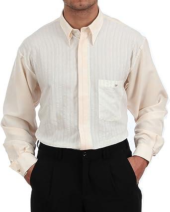 Designer Camisa En Marfil Beige/Batik, para hombre mejor ...