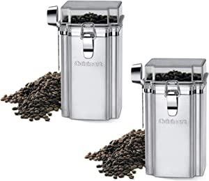 Cuisinart CUI-CAN Coffee Bean Container Bundle, Set of Two (2 Items)