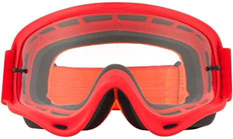 db0f8ff658 Oakley O Frame MX Adult Off-Road Motorcycle Goggles Eyewear - Red Orange w