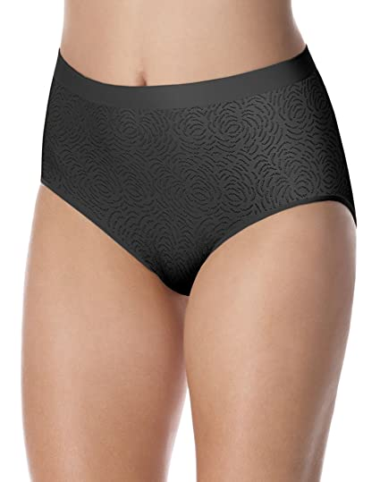 bbb2f6d7793f Image Unavailable. Image not available for. Color: Bali Women`s Comfort  Revolution Microfiber Seamless Brief ...