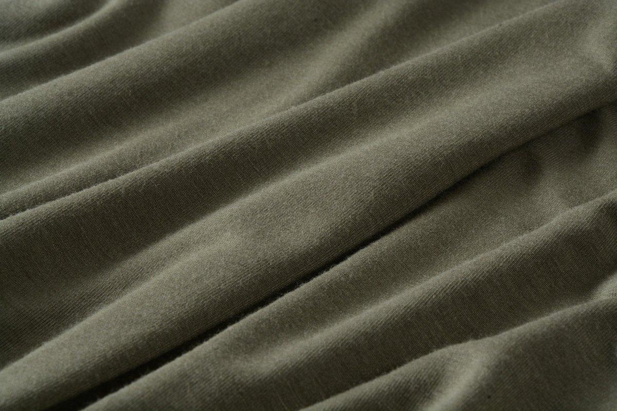LARACE Lanmo Women Plus Size 3/4 Sleeve Tunic Tops Loose Basic Shirt (3X, Army Green)
