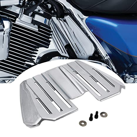 AUFER Chrome Precision Spark Plug Wire Cover for Harley ... on