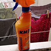 KH-7 | Quitagrasas Pulverizador | Máxima eficacia 750 ml | Formato cómodo y práctico | Para todo tipo de superficies y ropa: Amazon.es: Alimentación y bebidas