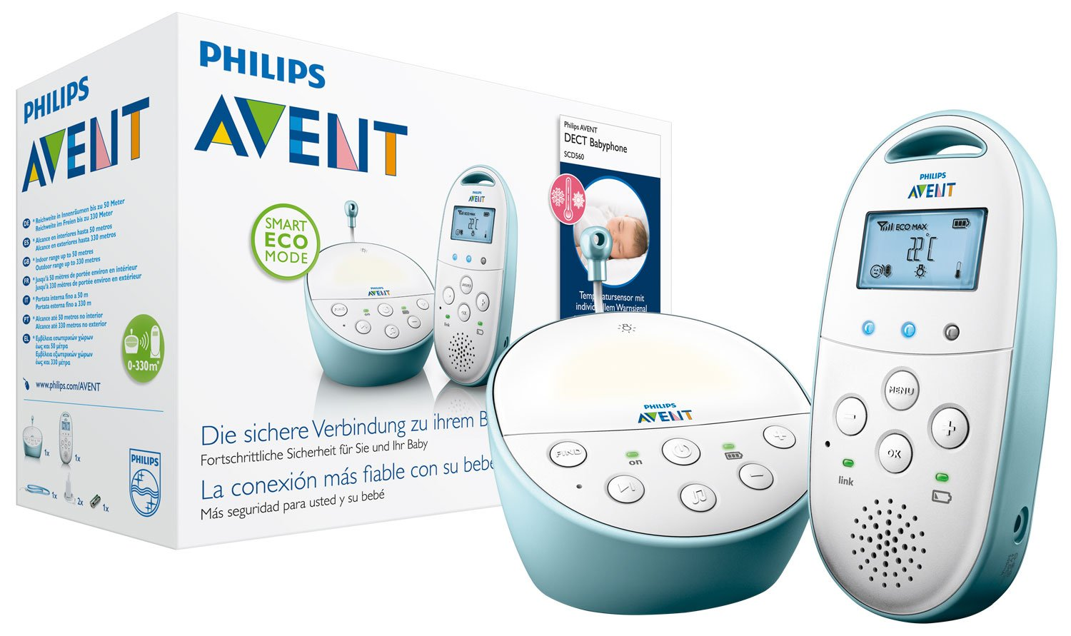 [amazon.de] Philips Avent SCD560 Babyphone za 56,99€ umjesto 89€