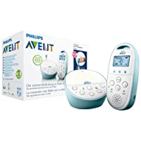 Philips Avent SCD560/00 Audio-Babyphone mit DECT-Technologie Smart Eco Mode, Gegensprechfunktion, blau