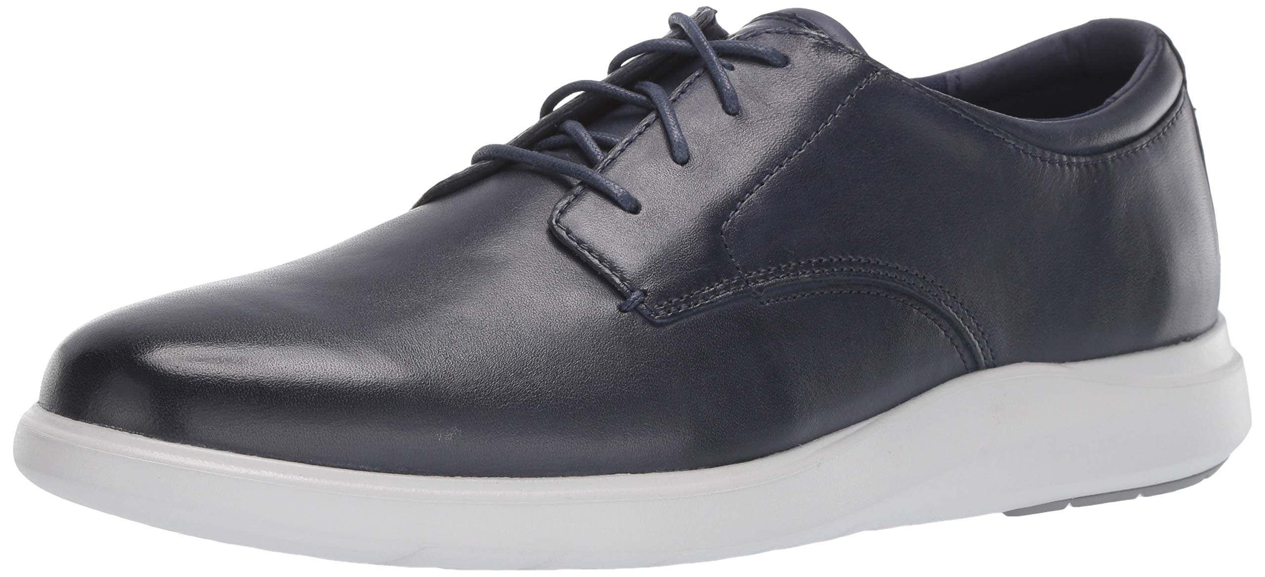 Cole Haan Men's Grand Plus Essex Wedge Oxford, Navy Leather, 9 M US