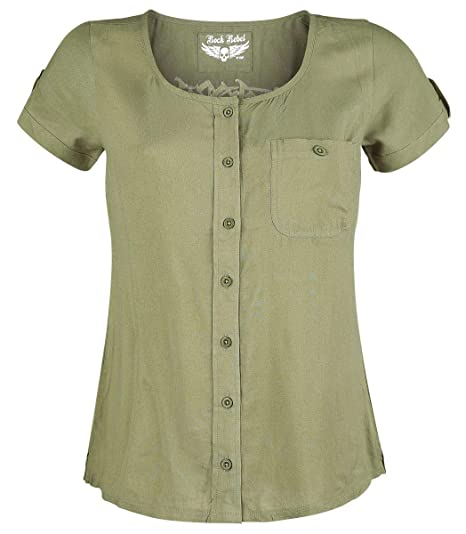 Rock Olive By See Emp Will I Chemise When You Manches Rebel Courtes nN8v0mw