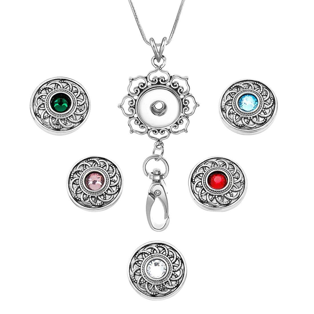 Derschiedene Edelstahl Halskette Kette Lanyard für Ausweishalter und Schlüssel