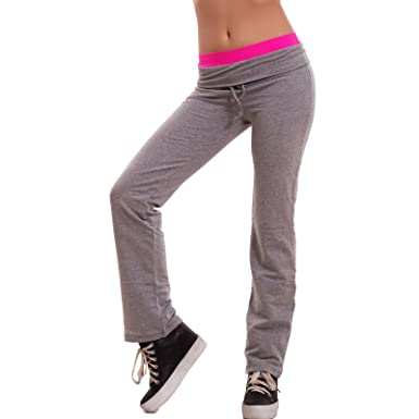 Toocool - Pantalón Mujer Chándal Gimnasio Felpati Fluo Sport Dance ...