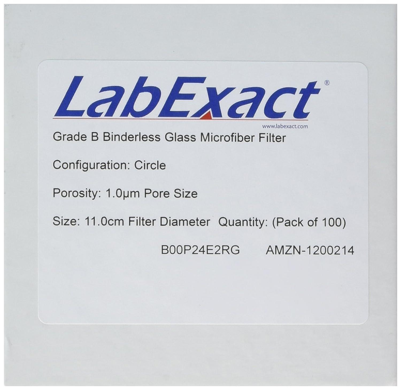 9.0 cm Grade B Binderless Glass Microfiber Filter Media