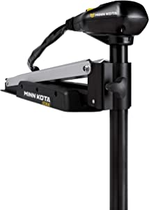MinnKota Edge Bowmount Foot Control Trolling Motor with Latch and Door Bracket
