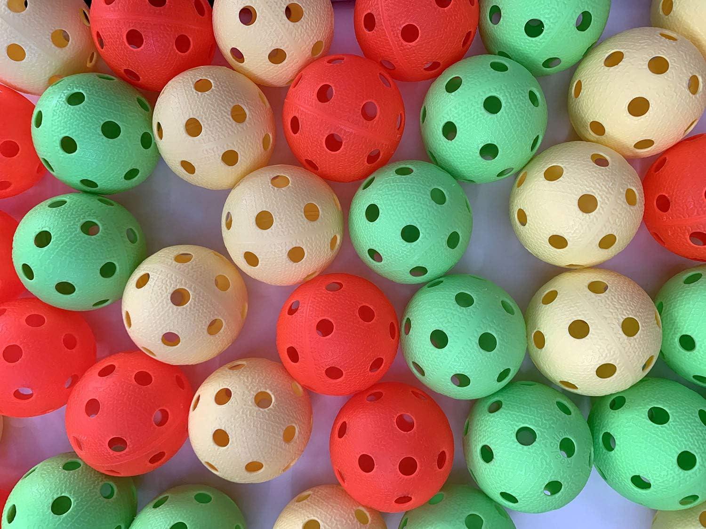 Realstick - Pelota de Floorball (50 Unidades): Amazon.es: Deportes ...