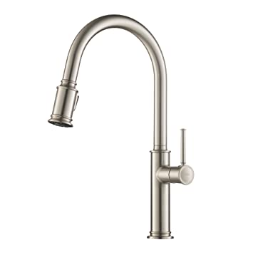 Perfect Kraus KPF 1680SFS Sellette Single Handle Pull Down Kitchen Faucet With Dual  Function Sprayhead In