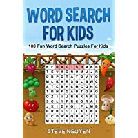 Word Search For Kids: 100 fun word search puzzles for kids