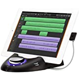 Griffin StudioConnect - Audio and MIDI Interface for iPad, 30 Pin Connector - Connect your Guitar/ Bass/ MIDI Instrument to your iPad