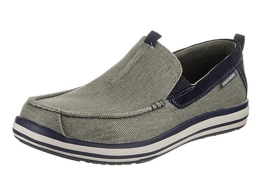 Finish Günstig Online Mens Noven - Caspen Olive Casual Shoe 11 Men US Skechers Freies Verschiffen Größte Lieferant Rabatt Fälschung b81wRV7G