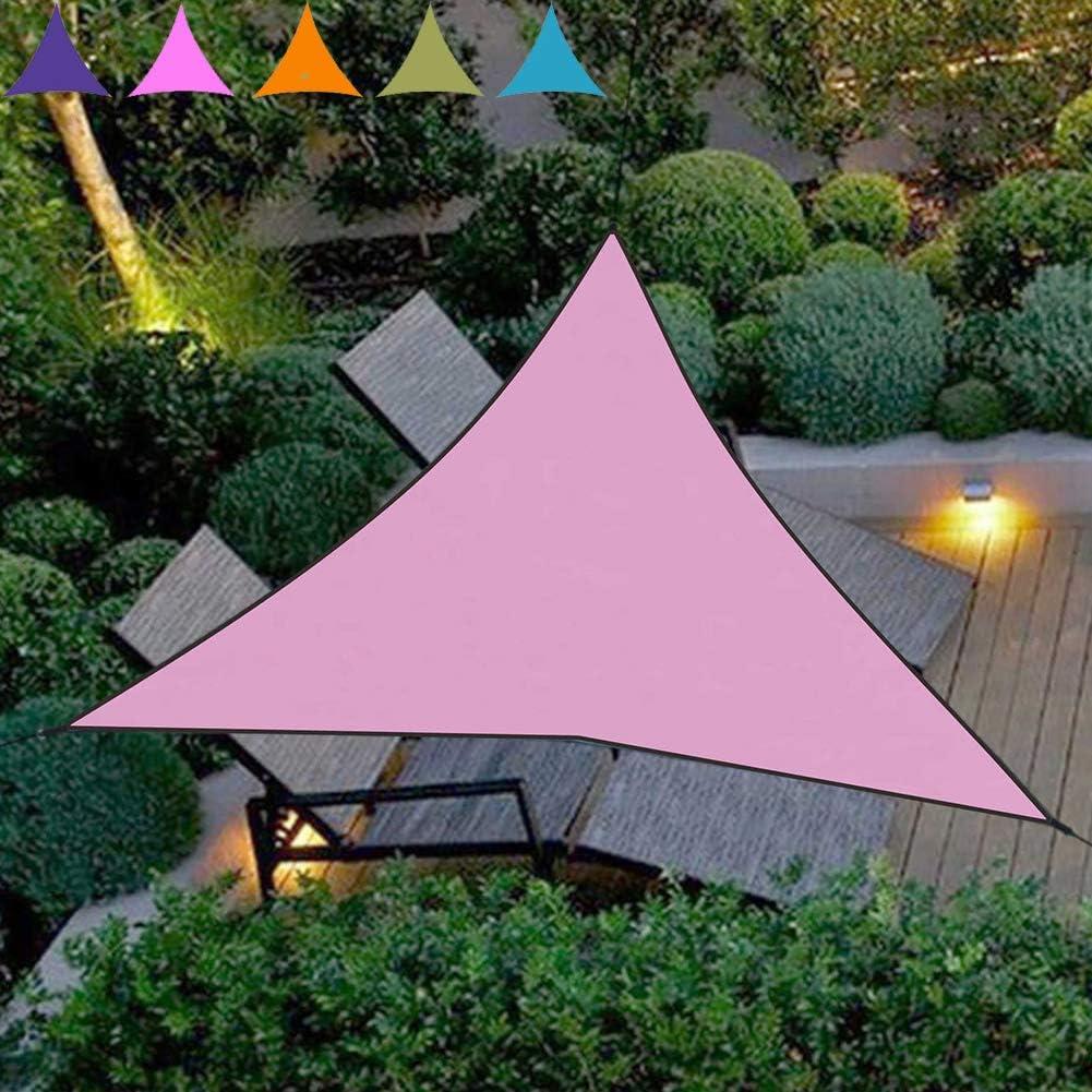 KKCD Vela De Sombra Triangular con La Cuerda Permeables UV Block Tela Durable para Actividades Al Aire Libre Al Aire Libre Patio Jardín Patio: Amazon.es: Deportes y aire libre