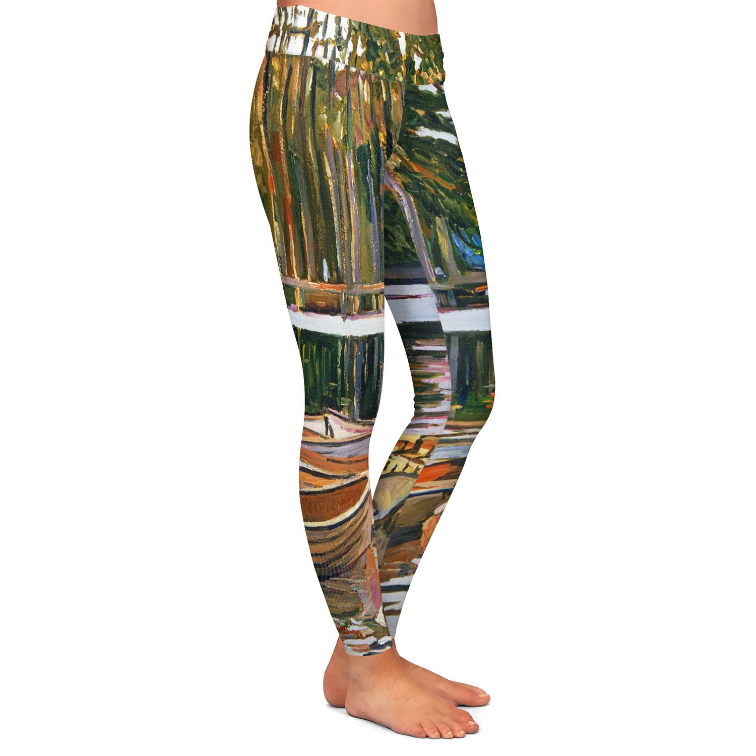 Athletic Yoga Leggings from DiaNoche Designs by David Lloyd Glover Lake Boats Paris