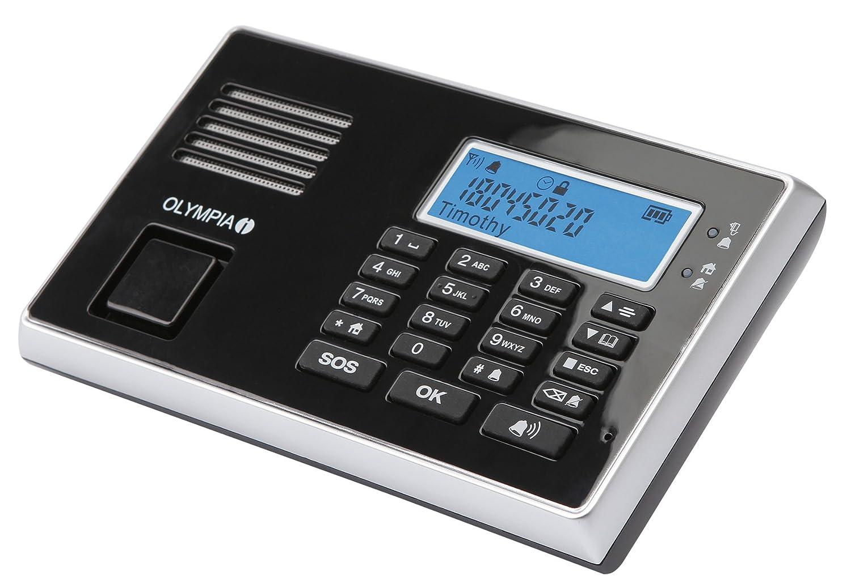 Olympia 5903 Protect 9030 Juego de Dispositivo de Alarma inalámbrico (Función gsm)