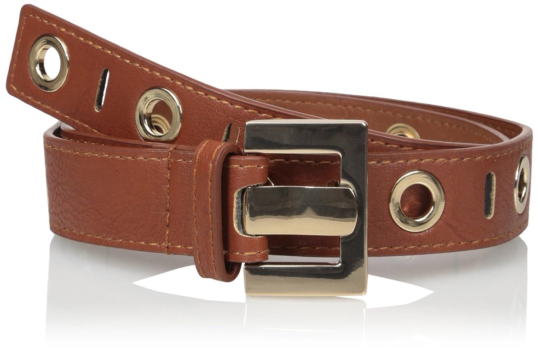 Belgo Lux Women's Large Eyelet Detail Belt