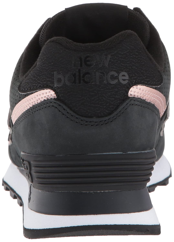 New Balance Women's Wl574v2 B075R7D1G8 6 M US|black