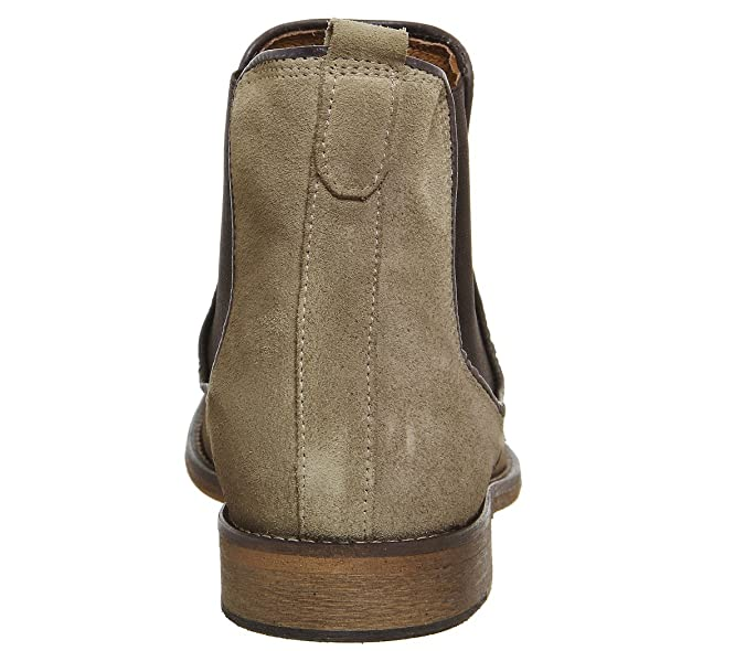 Ask The Missus Edgar Chelsea Boot Beige Suede - 11 UK  Amazon.co.uk  Shoes    Bags 964881f07f041