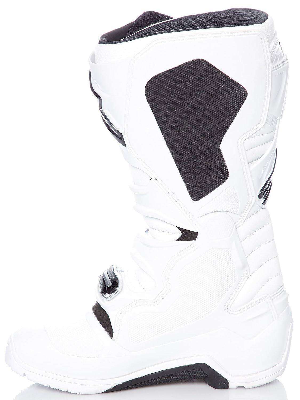 Black//Orange//Blue//White, Size 10 Alpinestars Mens Tech 7 Enduro Boots