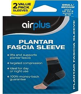 3b94e4f741 Airplus Plantar Fascia Sleeve, Men's Women's Small Medium, 2 Sleeves (Pack  ...