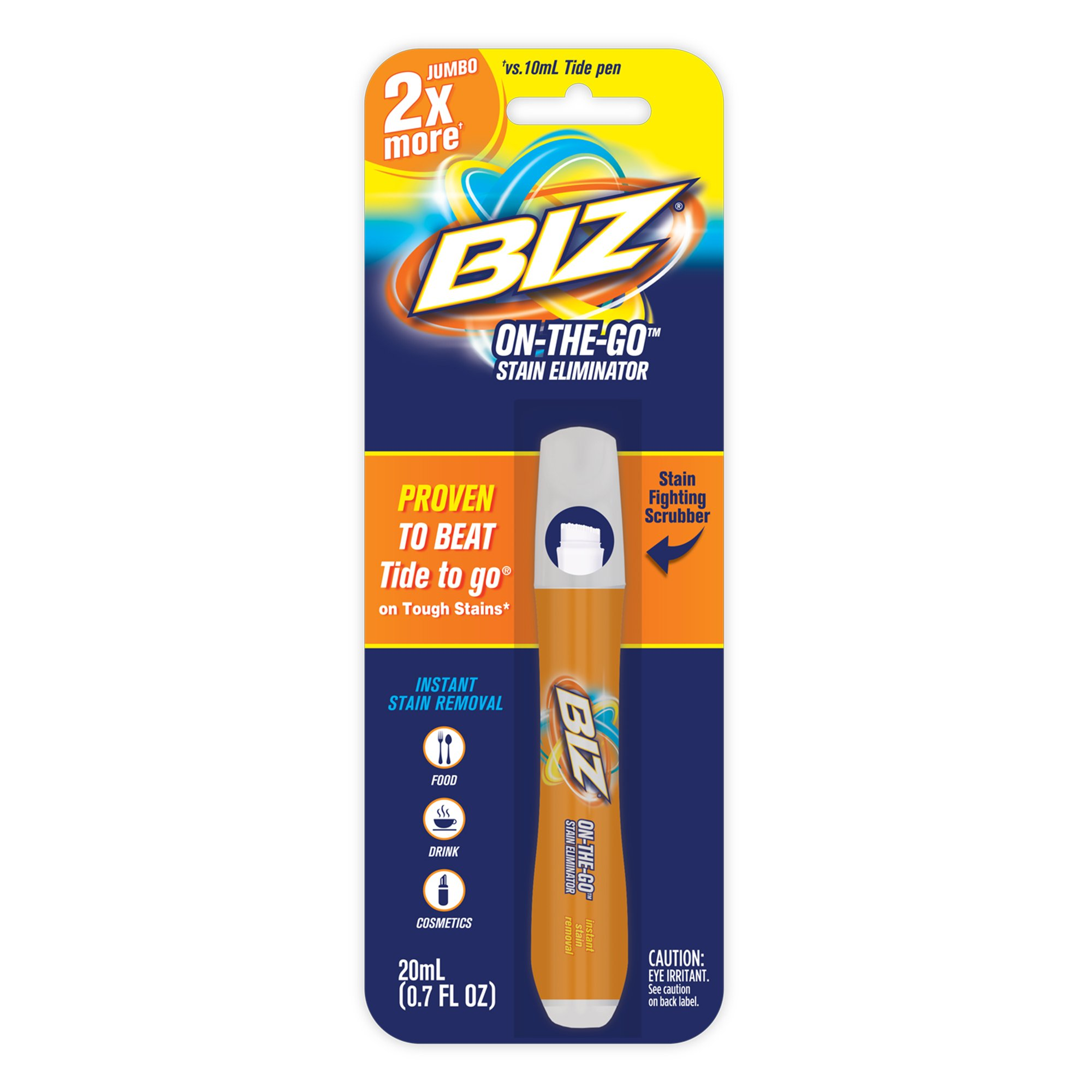 BIZ On-the-Go Stain Eliminator (8-Pack of Stain Remover Pens) by Biz