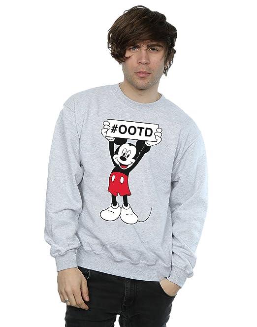Felpa Mouse Uomo Felpa Mickey Mickey Uomo Mouse 9YW2DEHI