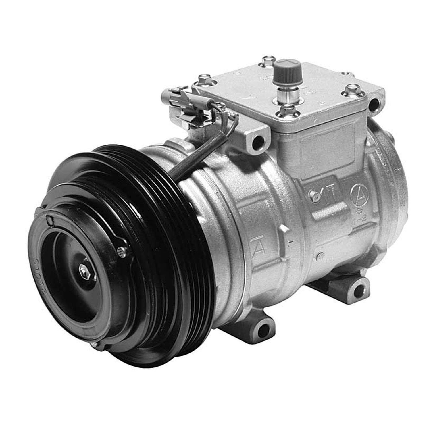 Denso 471-1164 New Compressor with Clutch 4711164