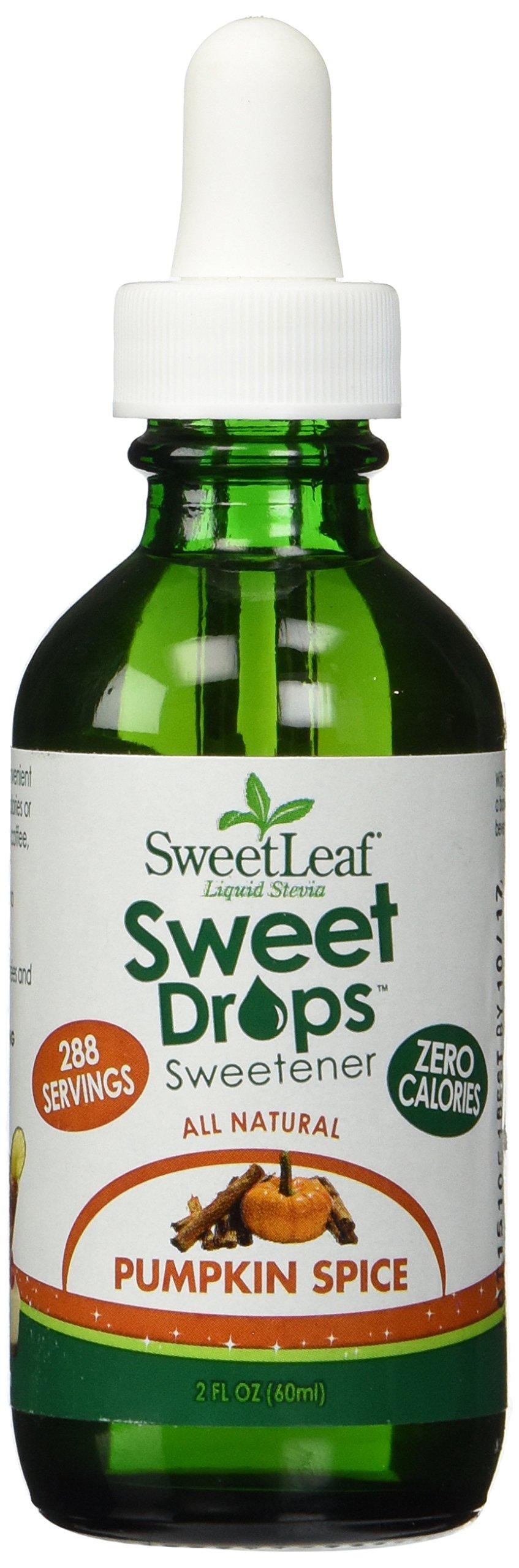 Stevia Pumpkin Spice SweetLeaf 2 oz Liquid
