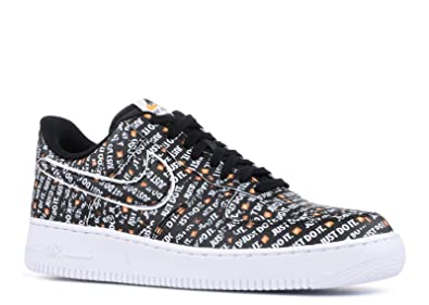 b067c0b890f02f Nike AIR Force 1 '07 LV8 JDI 'JUST DO IT' - AO6296-001: Amazon.in ...