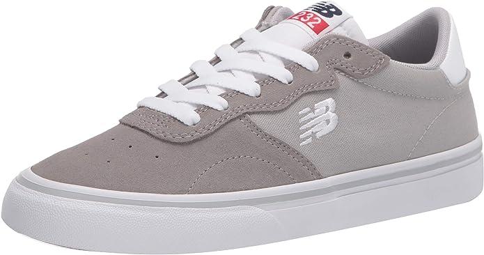 New Balance All Coasts AM232 Sneakers Skateschuhe Damen Herren Unisex Grau/Weiß
