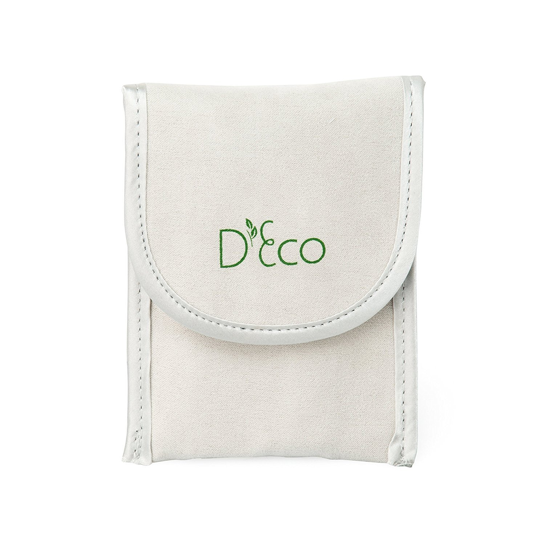Acero inoxidable chopsticks Twist Apart reutilizable bolsa de viaje palillos con por D eco