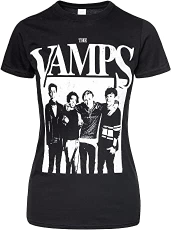 The Vamps Mens Floral Vamps Tank Top