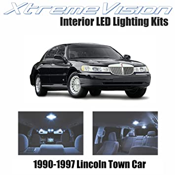 Amazon Com Xtremevision Lincoln Town Car 1990 1997 10 Pieces Cool